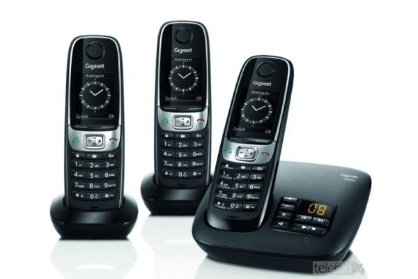 gigaset c620a trio t l phone sans fil dect avec r pondeur. Black Bedroom Furniture Sets. Home Design Ideas